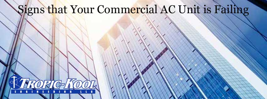 failing air conditioning system