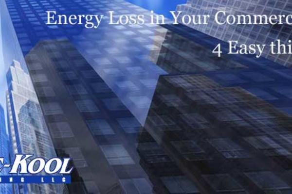HVAC energy loss